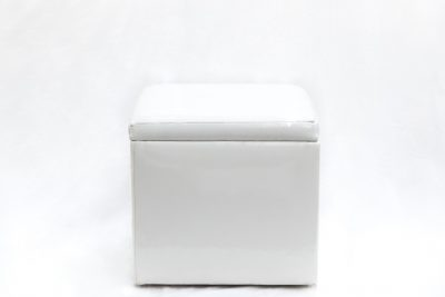 SolidWhiteOttoman