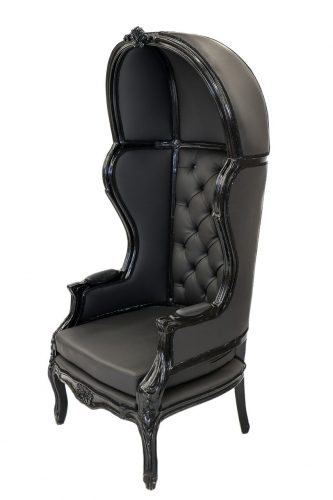 Black Porter Chair