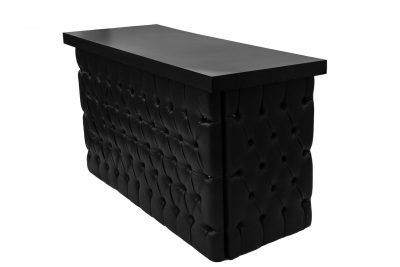 Black Tufted Bar