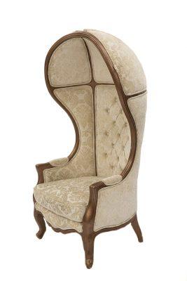 Brown Trim Porter Chair