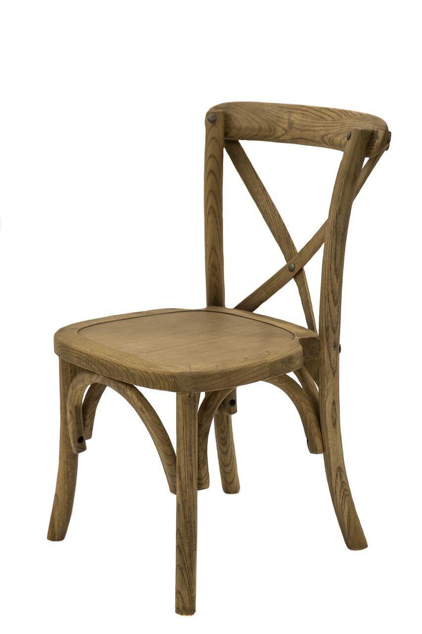 Brown Wood Kids Chair