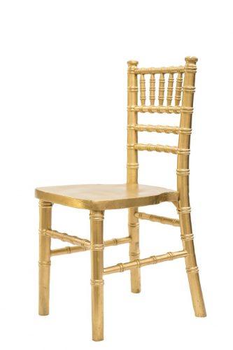 Gold Kids Chair
