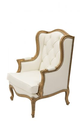 Ivory Gold Chair