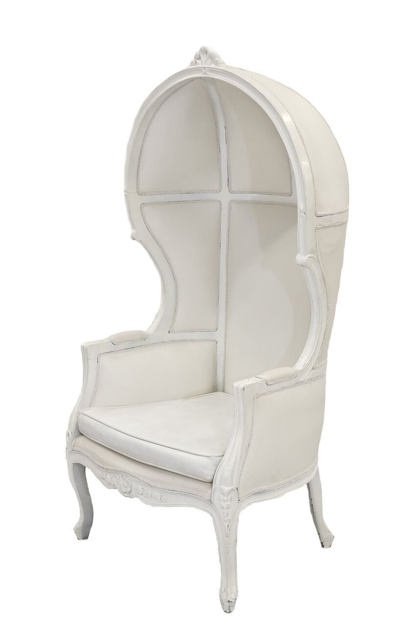 White Porter Chair