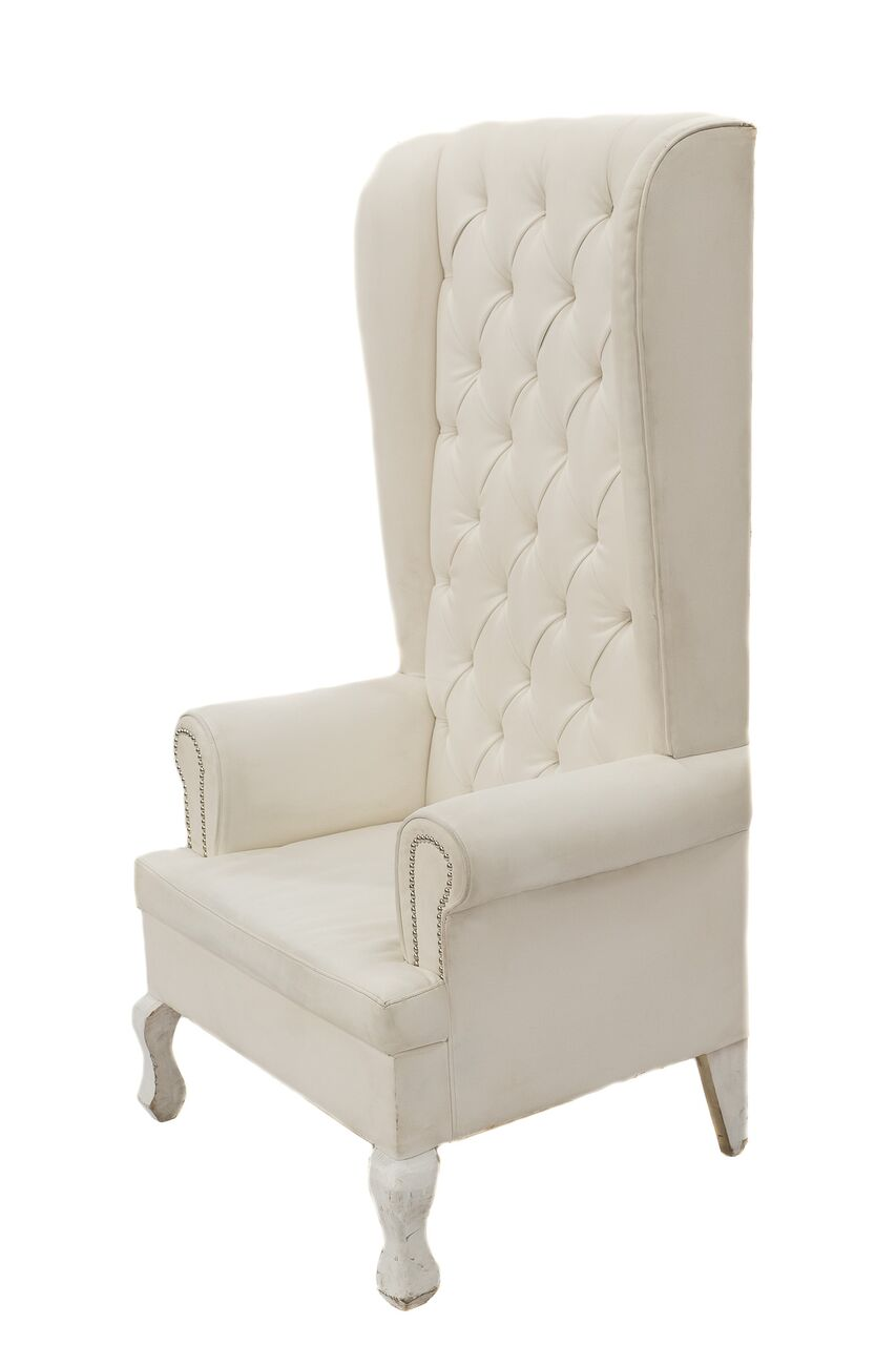Genial Ivory Throne Chair
