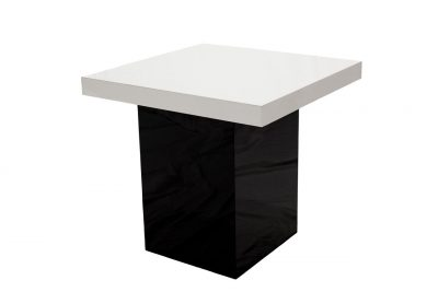 Slall Black Table - White Top