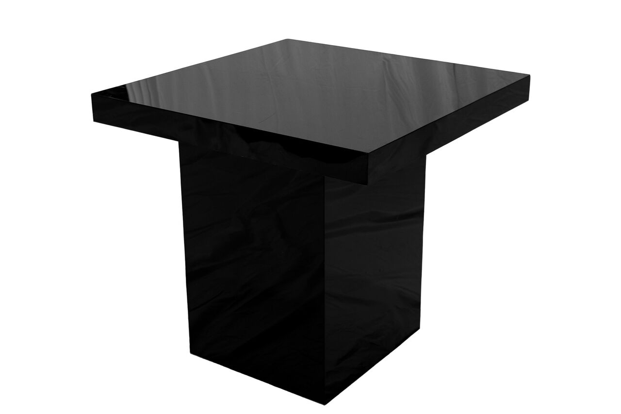 Slall black table black top for Small black table