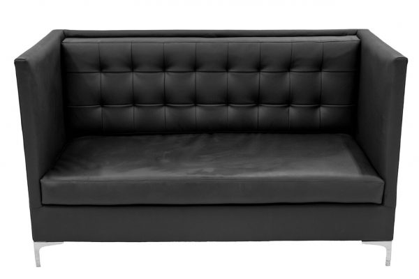 Black High Back Sofa