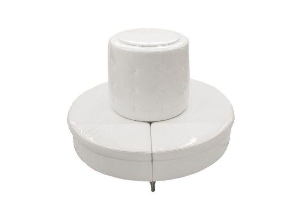 White Patent Leather Bourne